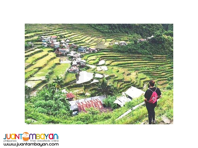 4D3N Beautiful Banaue Tour for 2 or 4