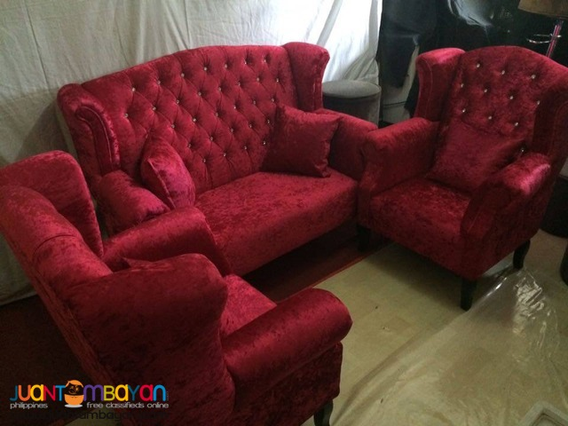 Juliet Debutante Event Couch Package for Rent