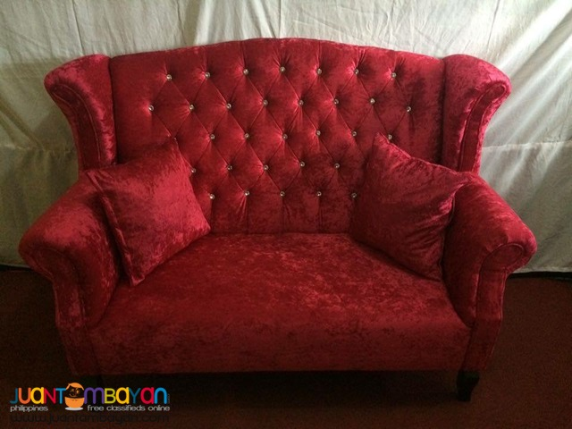 Juliet Debutante Event Couch For Rent (3 Seater)