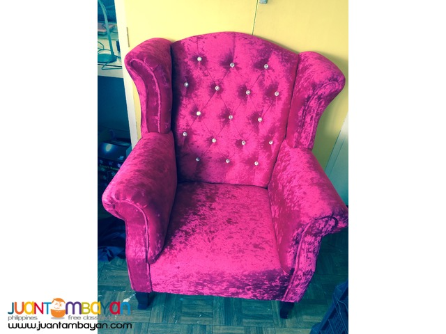 Juliet Debutante Event Couch For Rent (1 Seater)