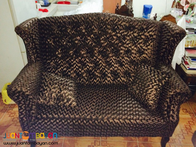 Benhur 2-Seater Event Couch For Rent (Brown)