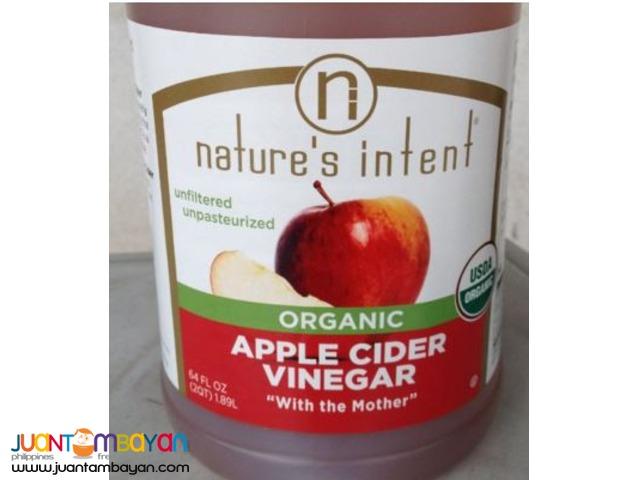 Organic Apple Cider Vinegar (Nature's Intent)