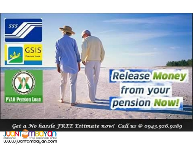 Pension Loan for Pensioner and Beneficiary