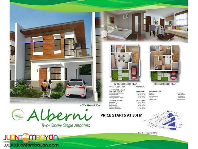 house for sale at The CRESCENT VILLE SUBDIVISION
