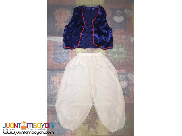 Aladdin Costume or Middle East Costume for kids (5yo)