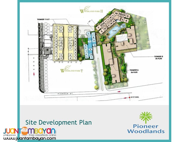 Affordable Studio Type Condo Units For Sale PIONEER WOODLANDS