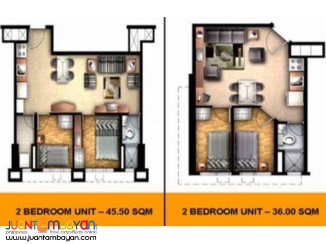 Affordable 2 Bedroom Condo Units For Sale PIONEER WOODLANDS