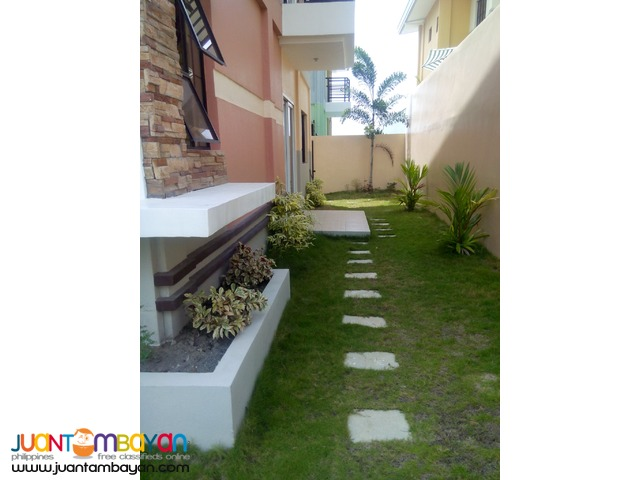 2 storey house &lot communal buhangin district