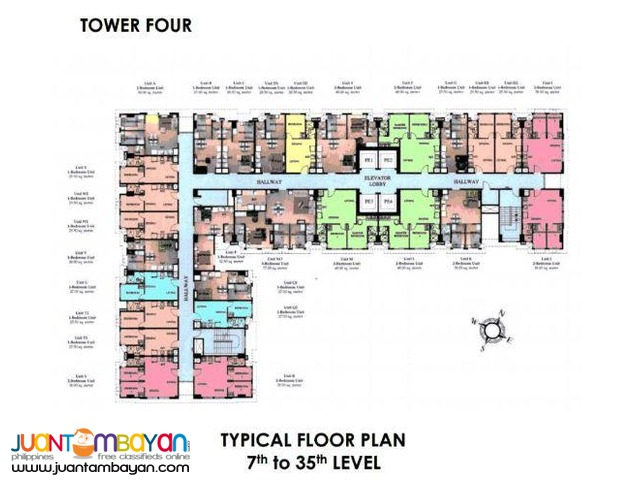 Makati Condominium Units for Sale - 3 Bedroom San Lorenzo Place