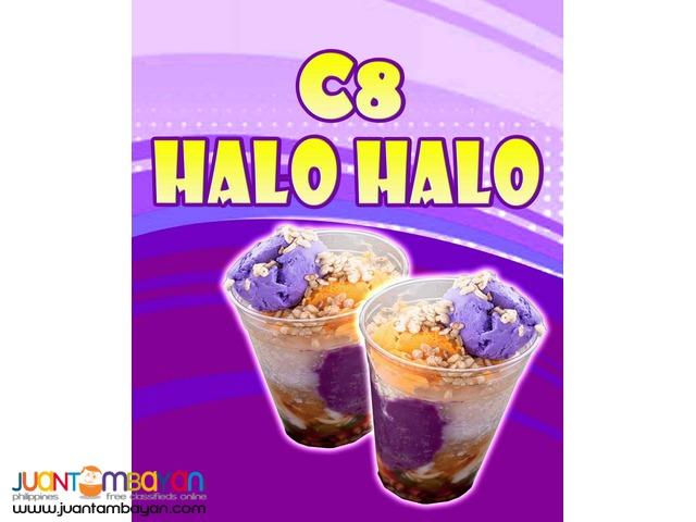 Manong sa Malamig, Buko king,   c8 halohalo