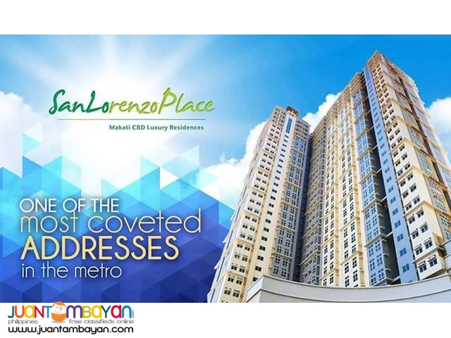 Makati Rent To Own Condo Unit San Lorenzo Place 1 Bedroom