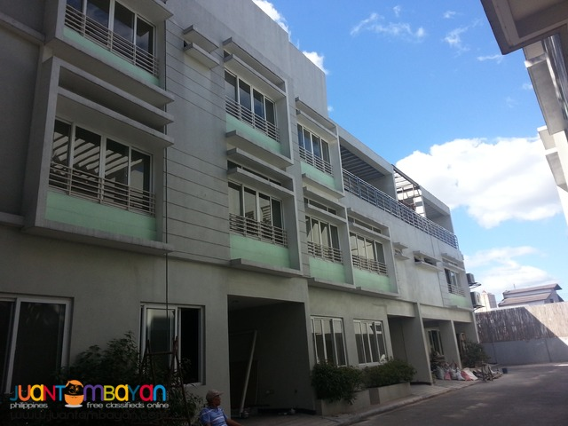 Brandnew Townhouse in New Manila Quezon City