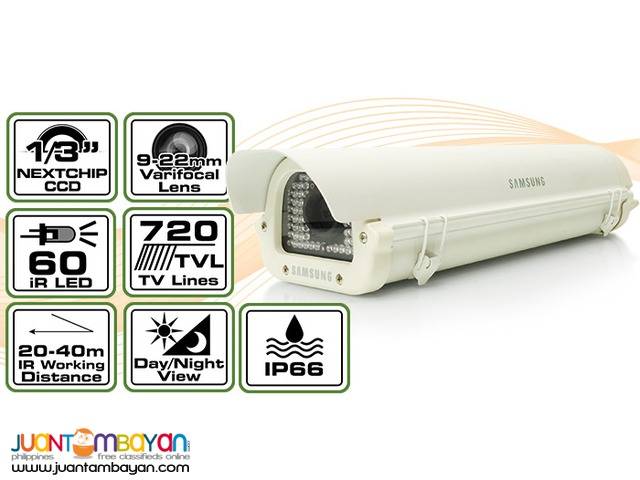 Side Open Weatherproof Camera Samsung STH-500 / 720TV Lines