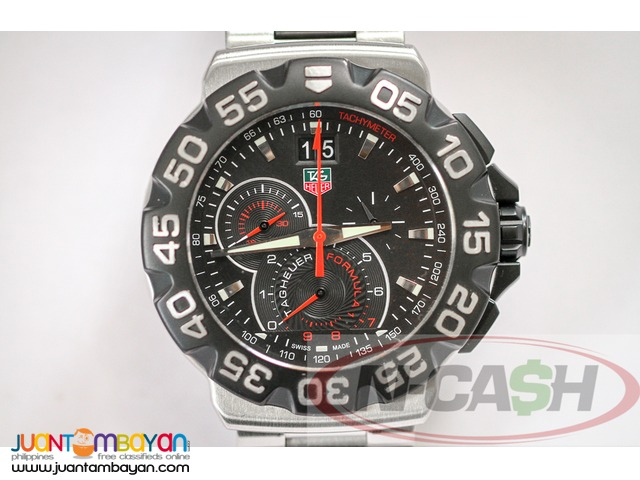 N-CASH Watch Pawnshop - Tag Heuer Formula 1 Grande Date Chronograph