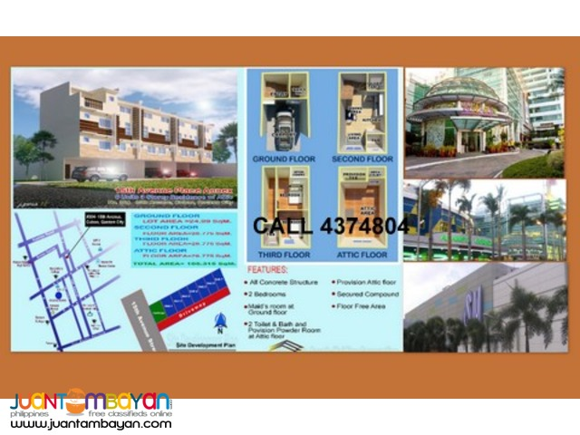 townhouse for sale in cubao quezon city area bargain