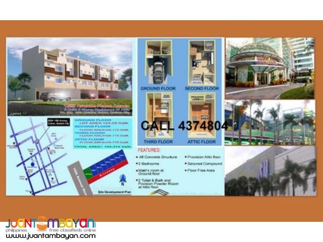 townhouse for sale in cubao quezon city area bargain