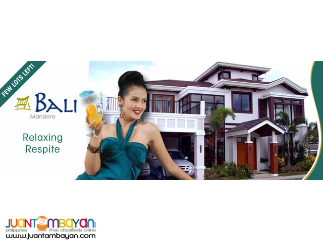 Residential Lot at Southforbes Golf City-Bali Mansions