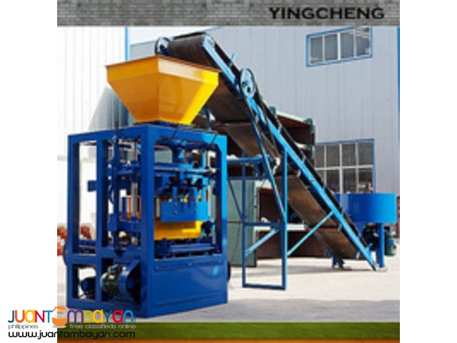 QTF4-26 Hollow block Brick making machine brand new for sale