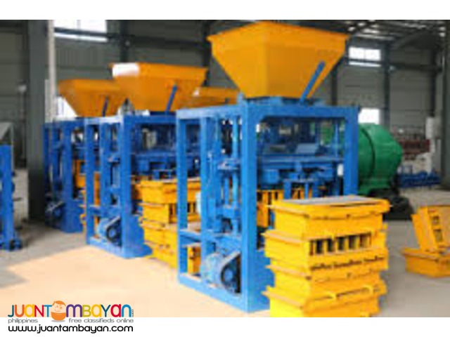 QTF 40-1 Block Making Machine brand new for sale!