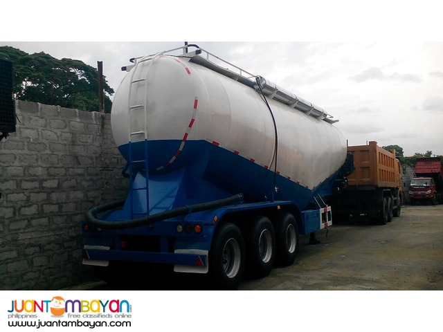 Tri Axle Bulk Cement Carrier brand new for sale!