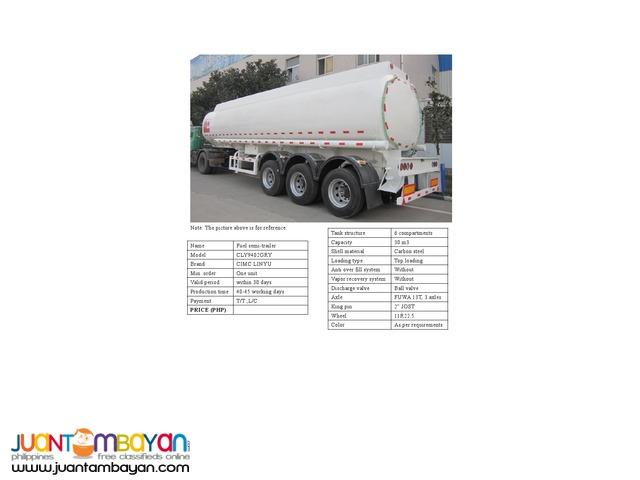 Brand new fuel semi trailer for sale
