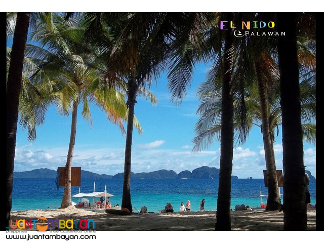 Towering marble cliffs, white sand beaches - El Nido tour package