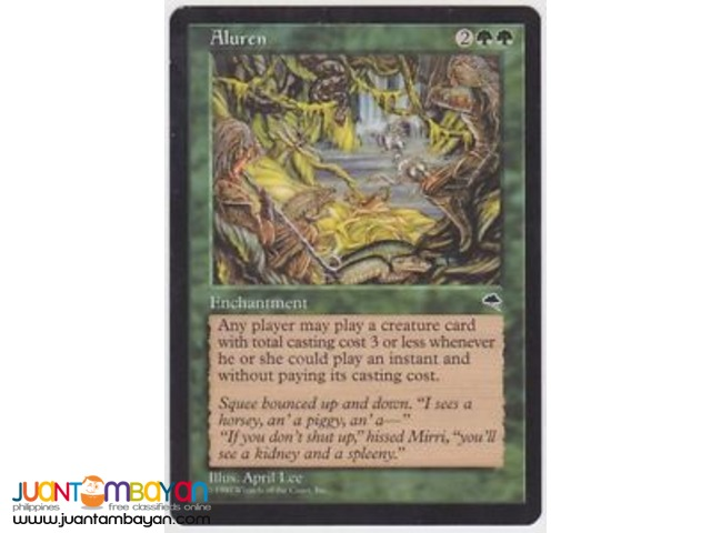 Aluren (Magic the Gathering Trading Card Game)