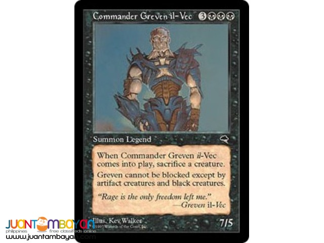 Commander Greven il-Vec (Magic the Gathering Trading Card Game)