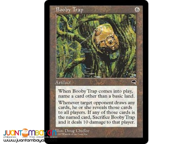Booby Trap (Magic the Gathering Trading Card Game)