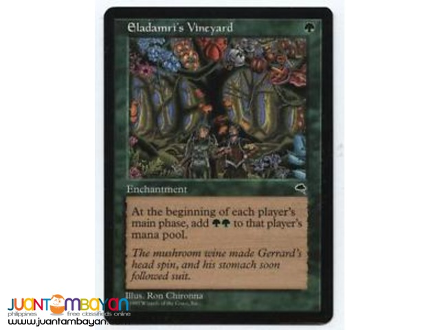 Eladamri's Vineyard (Magic the Gathering Trading Card Game)