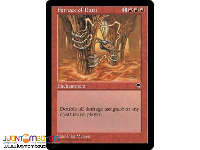 Furnace of Rath (Magic the Gathering Trading Card Game)