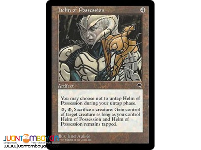 Helm of Possession (Magic the Gathering Trading Card Game)
