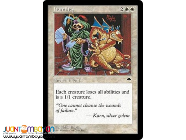 Humility (Magic the Gathering Trading Card Game)