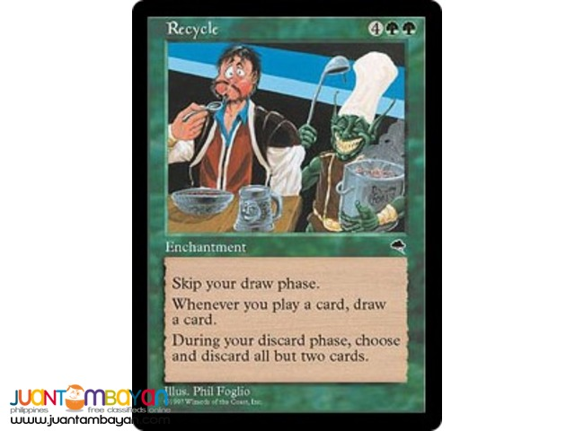 Recycle (Magic the Gathering Trading Card Game)