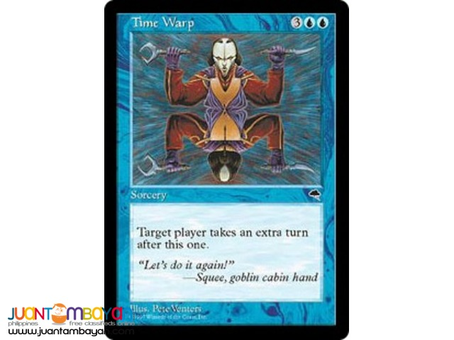 Time Warp (Magic the Gathering Trading Card Game)