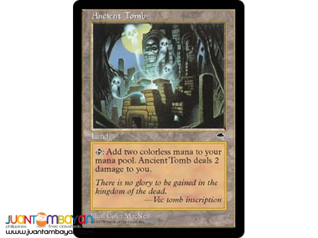Ancient Tomb (Magic the Gathering Trading Card Game)
