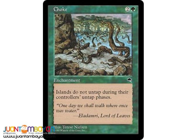 Choke (Magic the Gathering Trading Card Game)