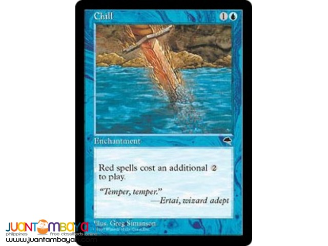Chill (Magic the Gathering Trading Card Game)