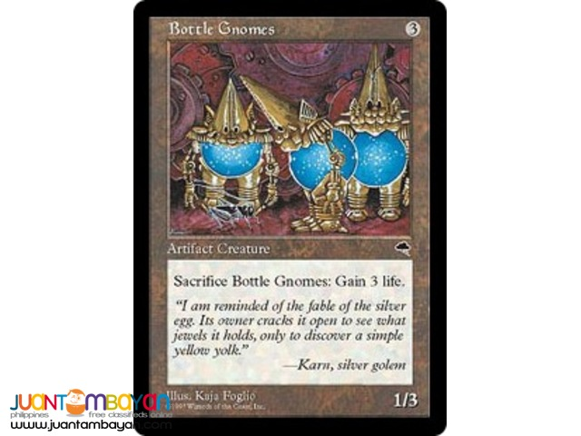 Bottle Gnomes (Magic the Gathering Trading Card Game)