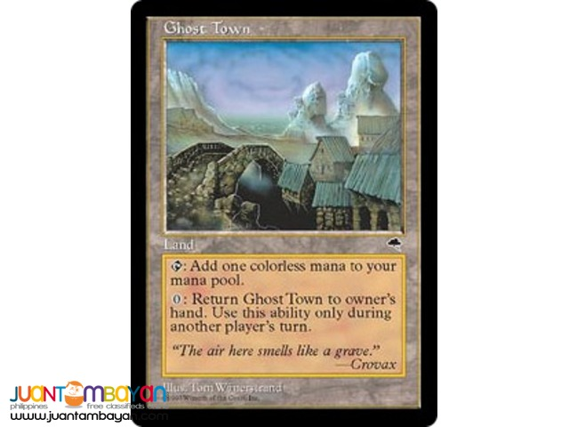 Ghost Town (Magic the Gathering Trading Card Game)