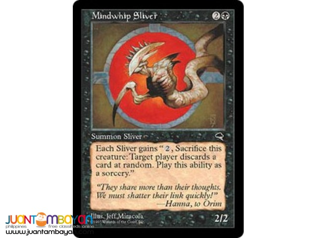 Mindwhip Sliver (Magic the Gathering Trading Card Game)