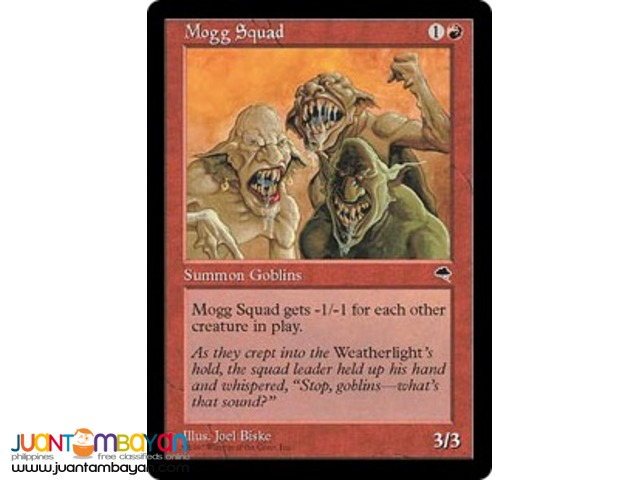 Mogg Squad (Magic the Gathering Trading Card Game)
