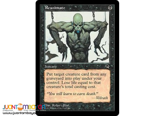 Reanimate (Magic the Gathering Trading Card Game)