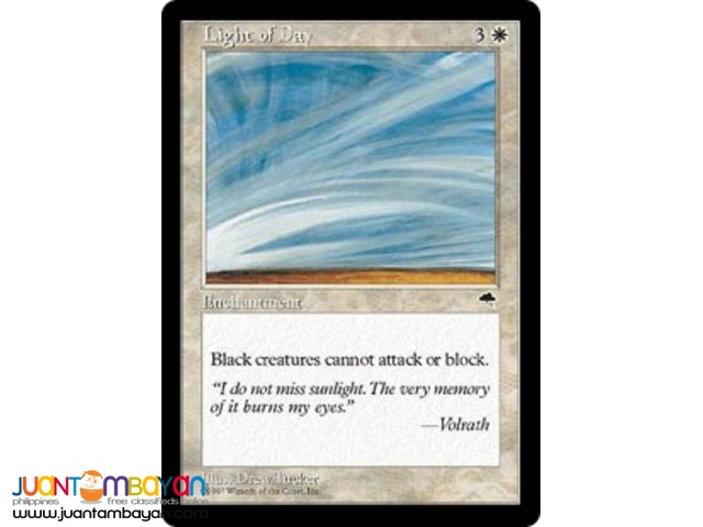 Light of Day (Magic the Gathering Trading Card Game)