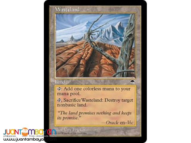Wasteland (Magic the Gathering Trading Card Game)