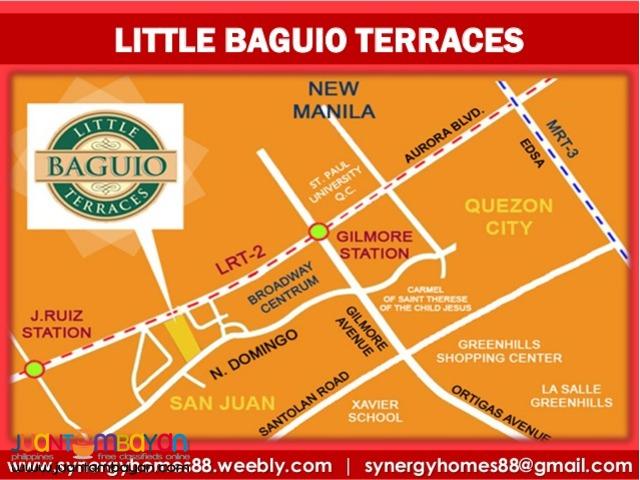 Little Baguio Terraces San Juan Condo Units for Sale NO DOWNPAYMENT