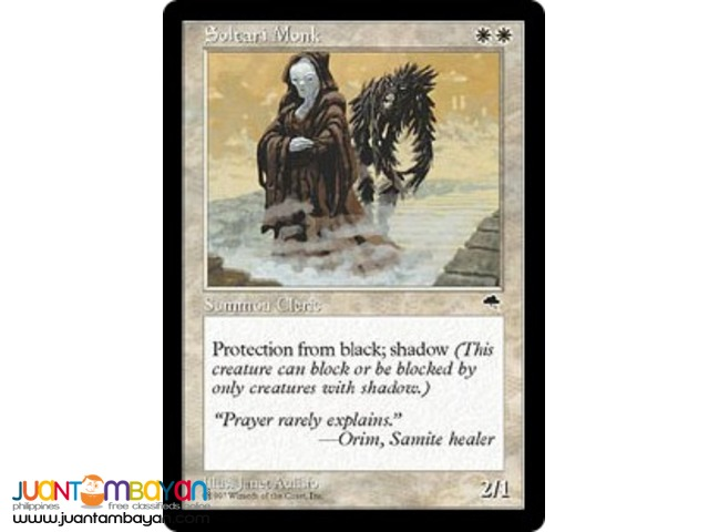 Soltari Monk (Magic the Gathering Trading Card Game)