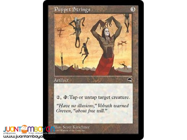 Puppet Strings (Magic the Gathering Trading Card Game)