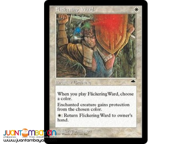 Flickering Ward (Magic the Gathering Trading Card Game)