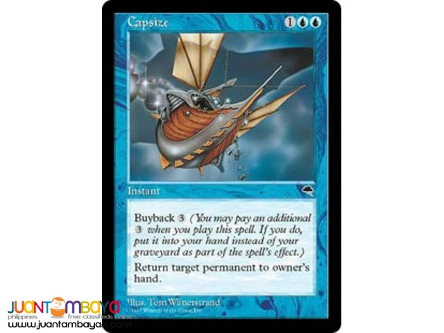 Capsize (Magic the Gathering Trading Card Game)